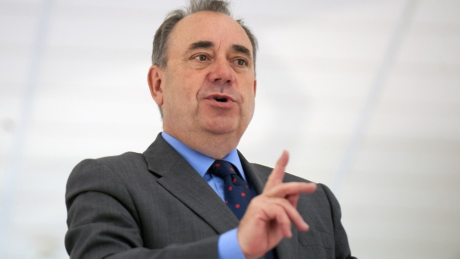 "Independence is ""golden opportunity"" for business, according to Alex Salmond."
