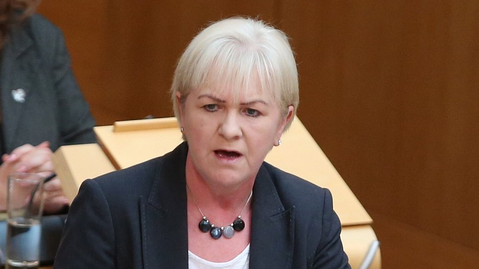 The BBC is reporting that Johann Lamont  will resign
