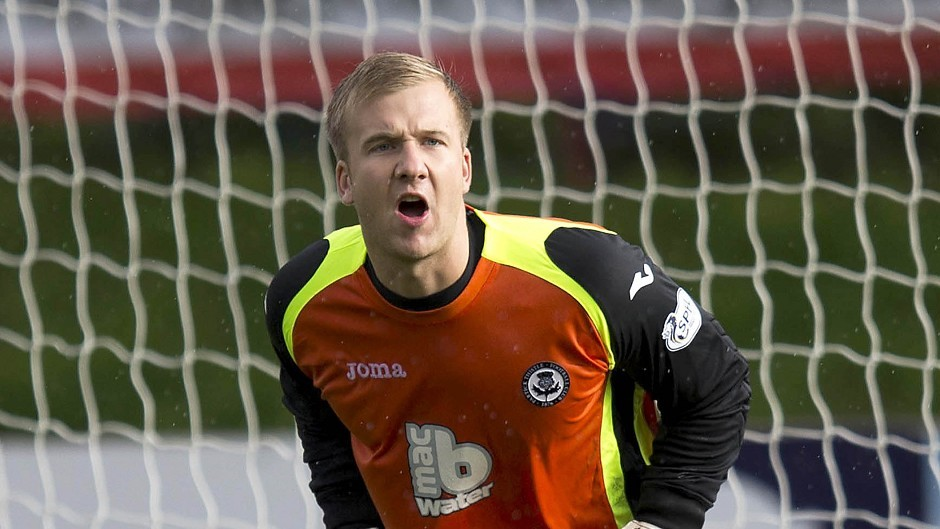 Bachmann will be competing with former Partick Thistle goalkeeper Scott Fox