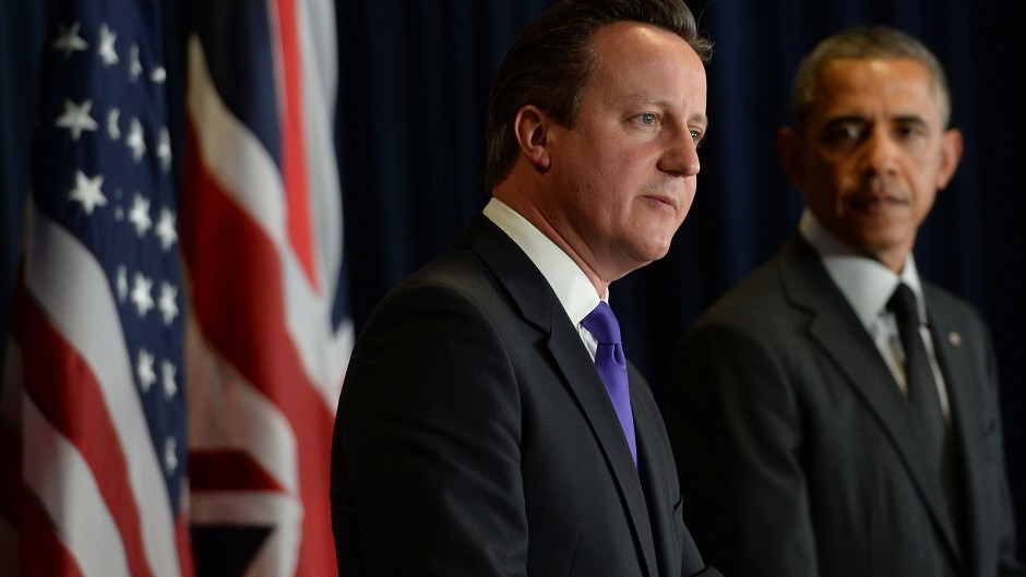 David Cameron and Barack Obama condemned Hamas for launching rockets from civilian areas