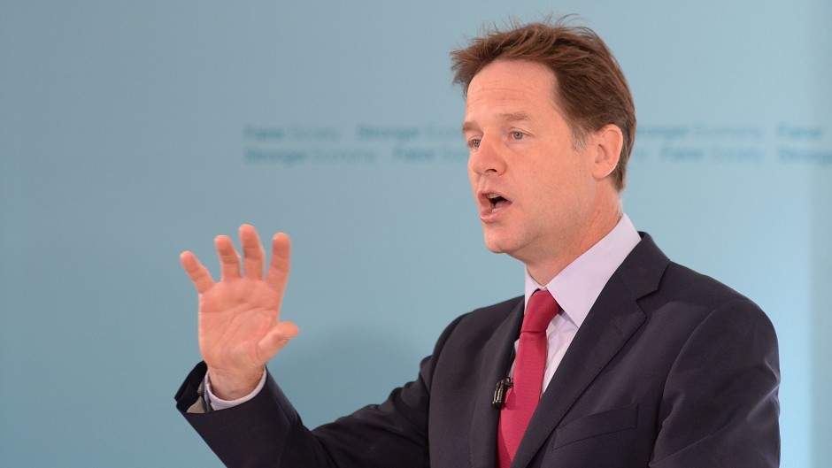 Deputy Prime Minister Nick Clegg is leading a trade mission to India