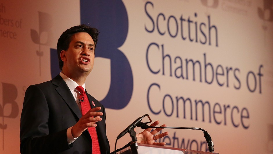 Ed Miliband said the 'cost of a currency union without political union, without a fiscal union, without banking union, are costs that will be too high for the UK'