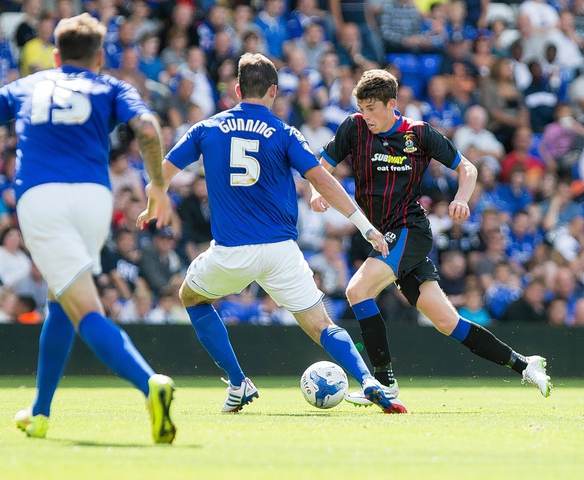 Ryan Christie's early season form has led to international recognition