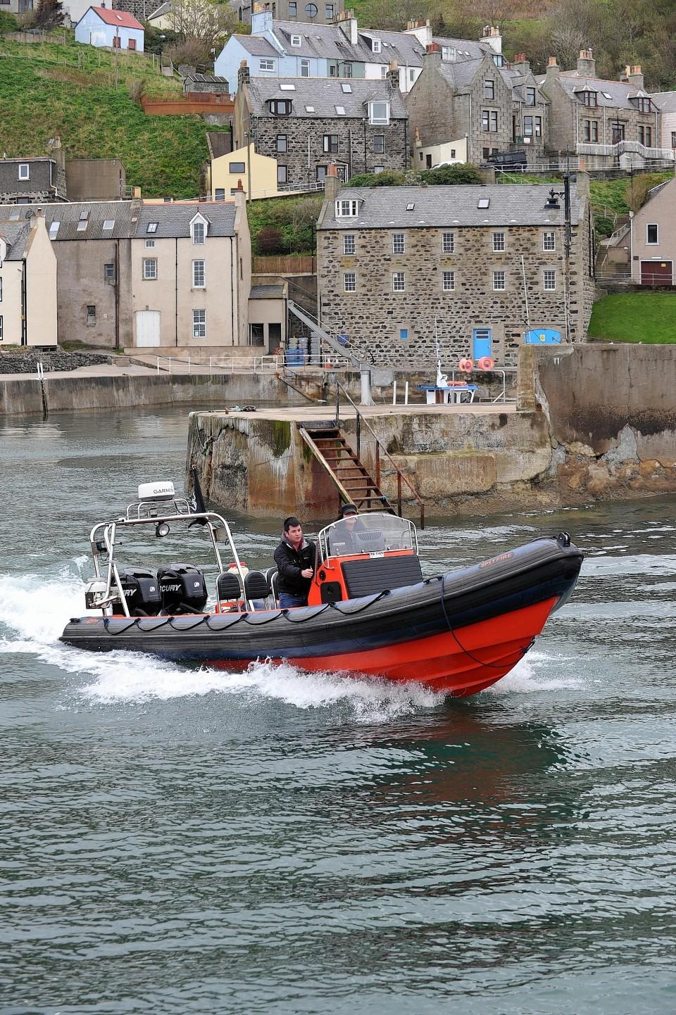 Sea Shepherd at Gardenstown