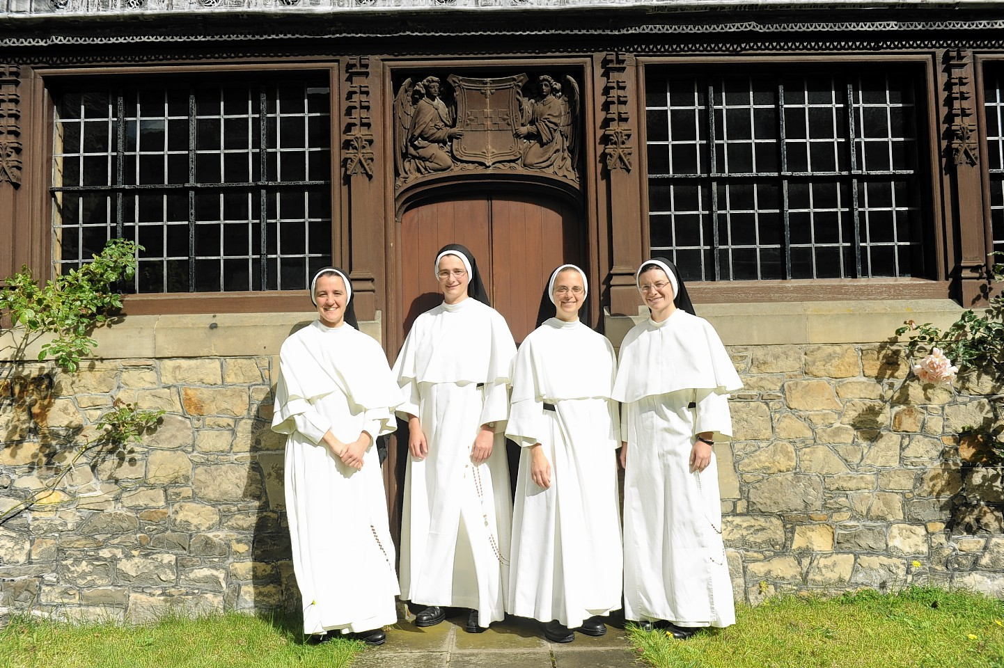 The sisters at Greyfriars Convent in Elgin.
