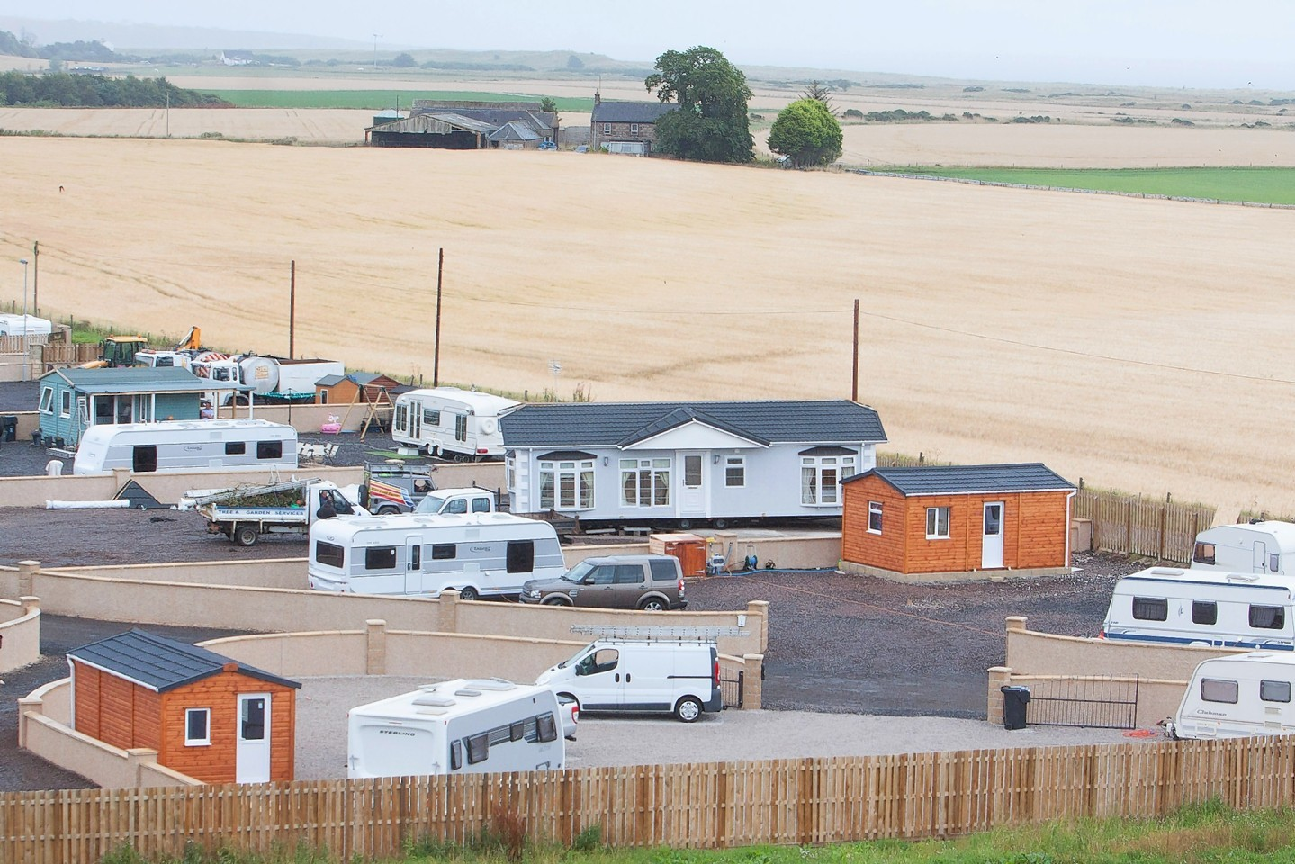 Travellers at St Cyrus