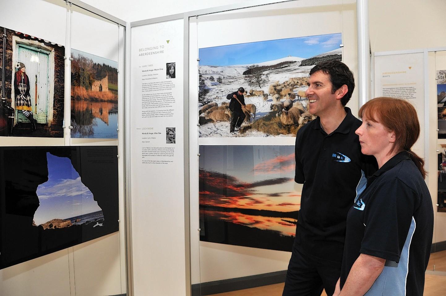 Triptych exhibition
