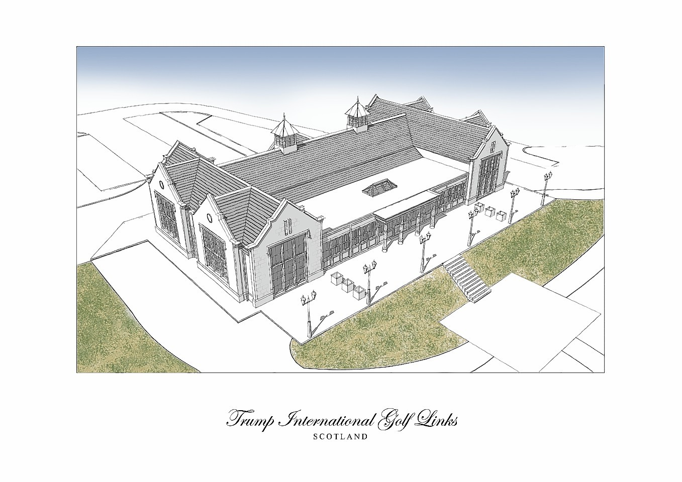 Artist impressions of the Clubhouse plans