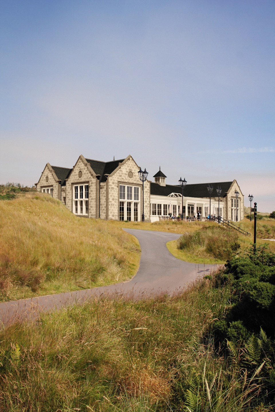 A first look at Donald Trump's planned new clubhouse for his Aberdeenshire golf resort