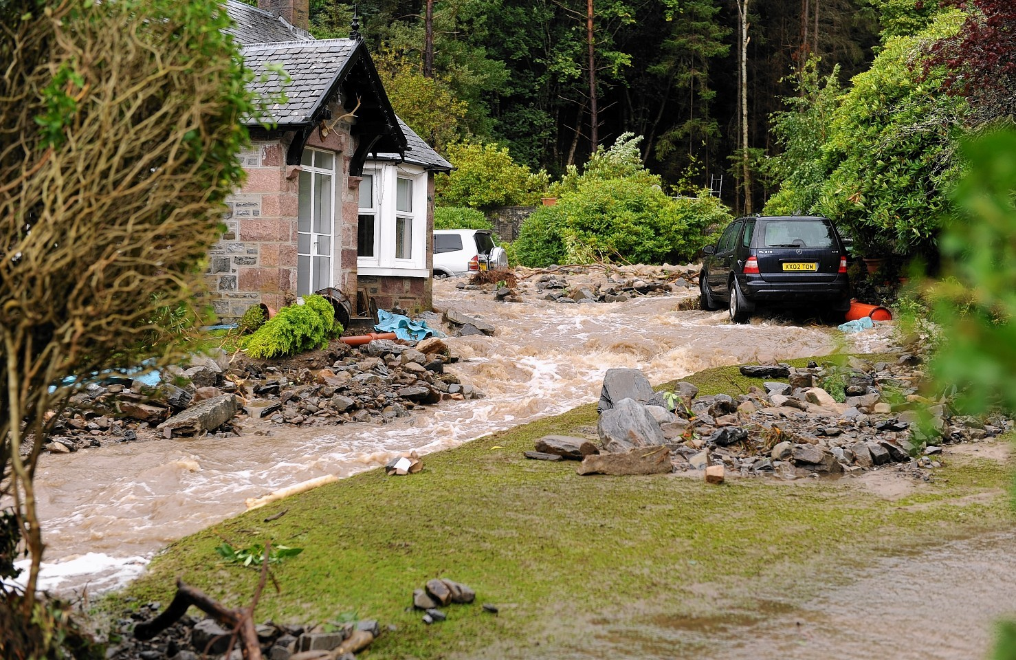 Flooding near Ullapool