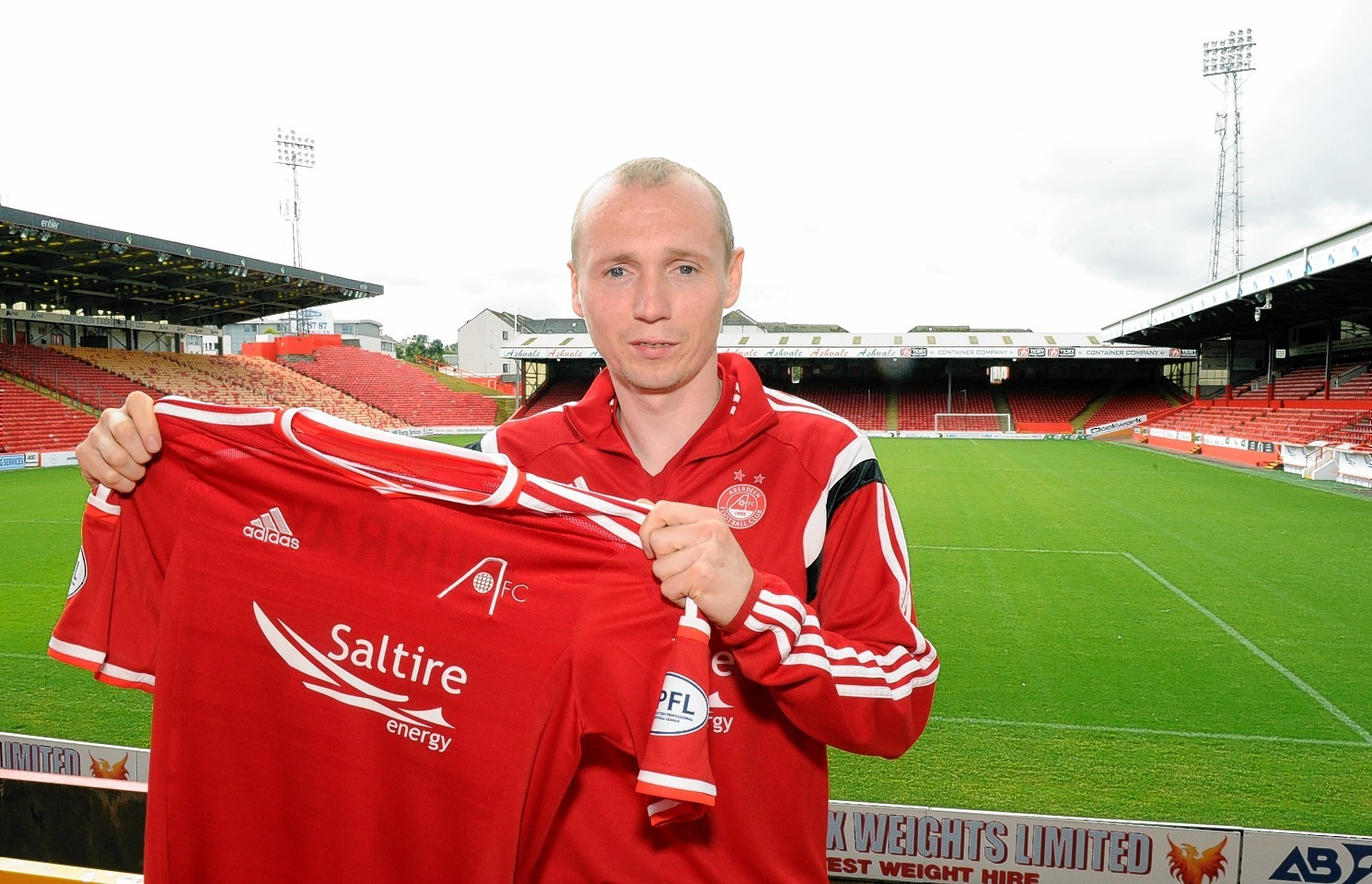 Willo Flood: The midfielder has committed his future to Aberdeen.