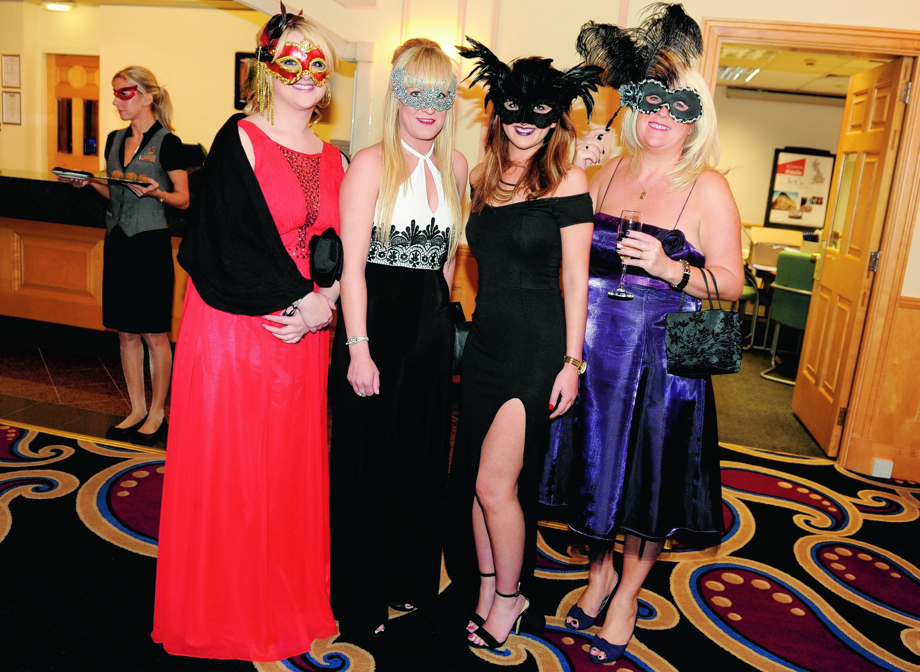 Ashleigh McAllan, Nikki Webster, Hayley Armstrong and Fiona Hawkins.