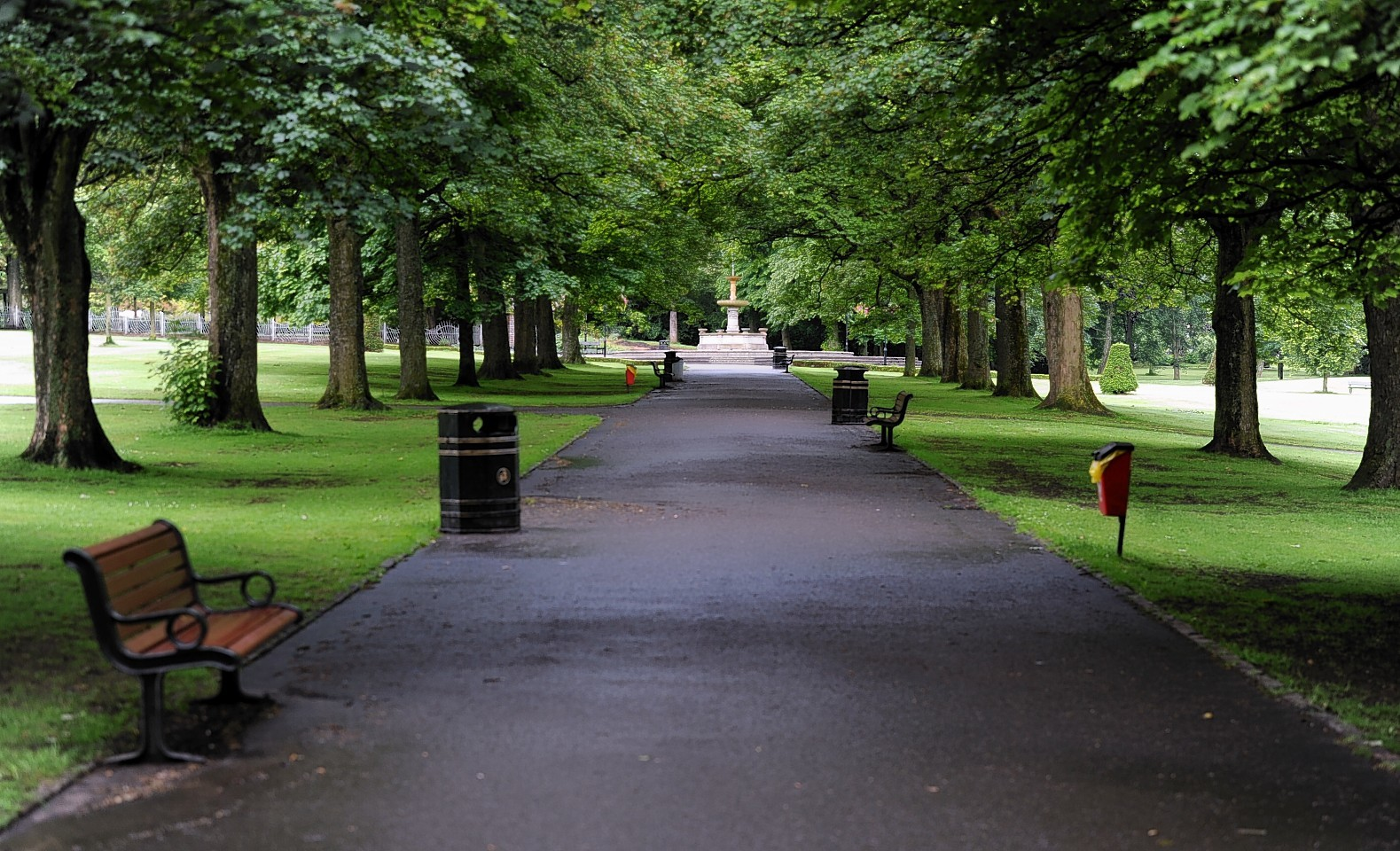 Police are appealing for information after the incident at Victoria Park, Aberdeen.