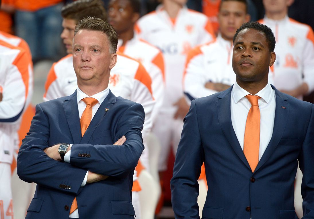 Patrick Kluivert was linked with the vacancy