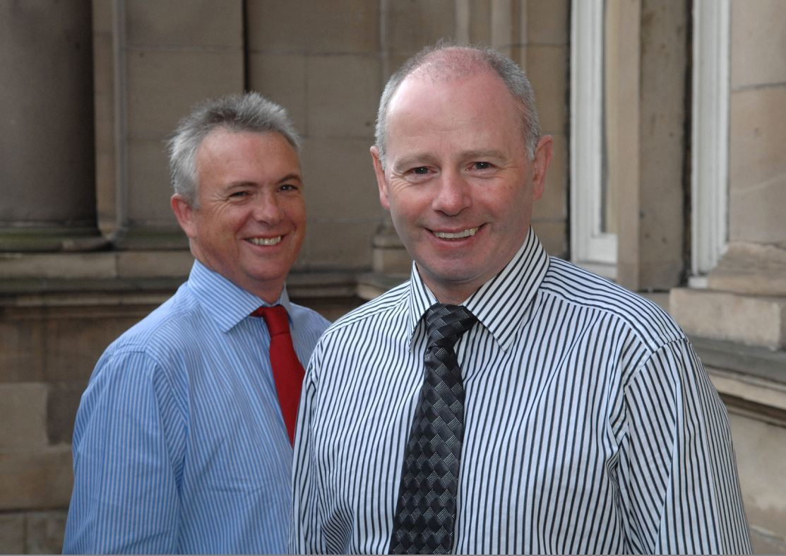 Glenn Allison and Stewart Milne