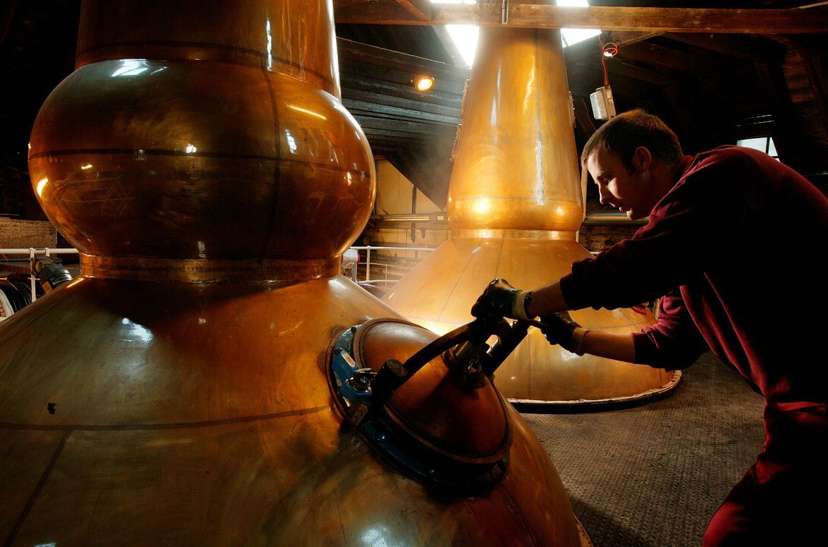 Pernod Ricard owns The Glenlivet, Aberlour and Chivas Regal whiskies