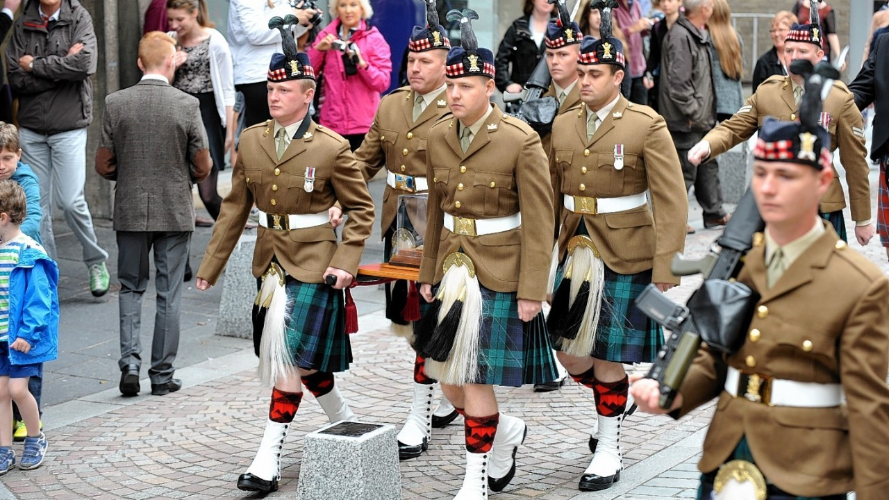 First World War Centenary Commemorations in Inverness