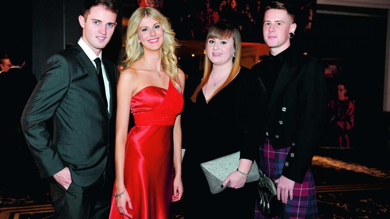 Iain Malcolm, Katie Brown, Kim Henderson and callum Smith.