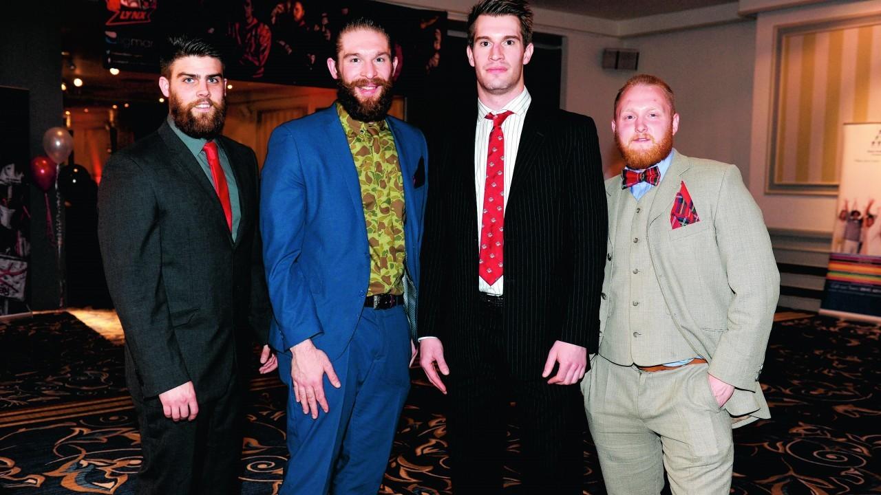 Scott Charlmers, Fraser Maceachran, Calum Maceachran and Mark Laing.