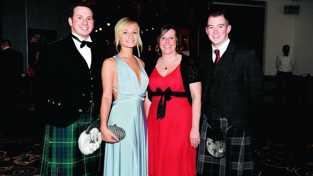 John Colley, Jade Nepburn, Ann-Marie Littlejohn and Jardan Leyden.