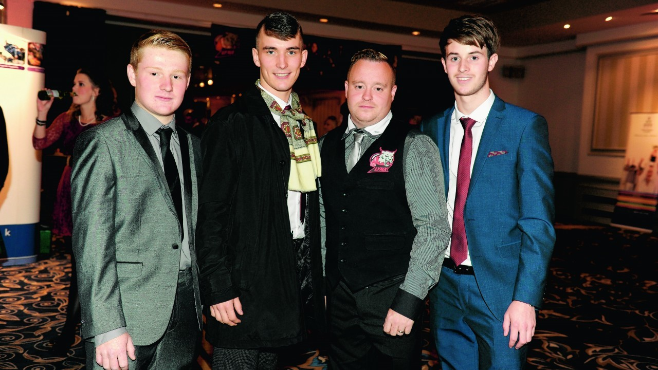 Sean Duyer, Jamie Vincent, Kevin Turnbull and Aaron Thomson.