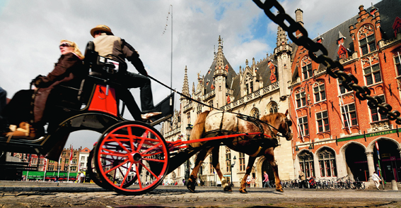 Bruges, for all its world-class history and architecture, is a blast for children