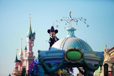 Disney Magic On Parade at Disneyland