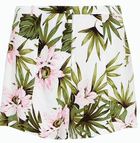 Dorothy Perkins floral print shorts