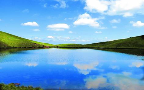 Mystical Llyn Cwm Llwch lake