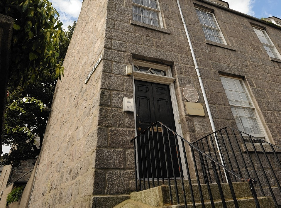 Albyn House, Dee Street, is a designated safety place for drunk people in Aberdeen