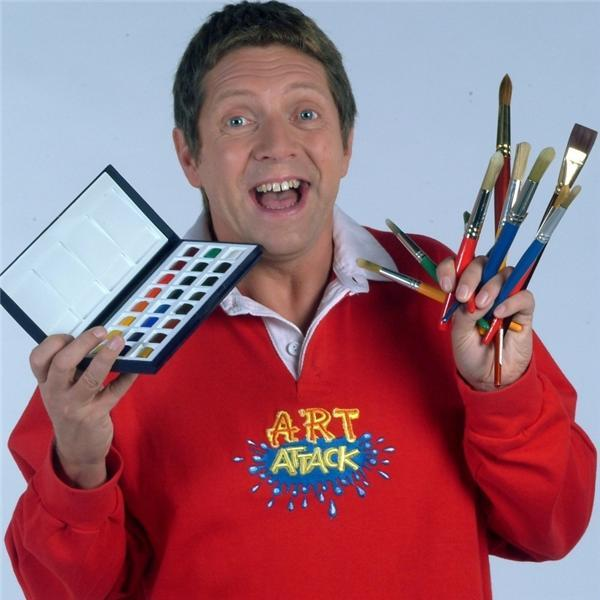 Neil taught us all we know when it comes to art