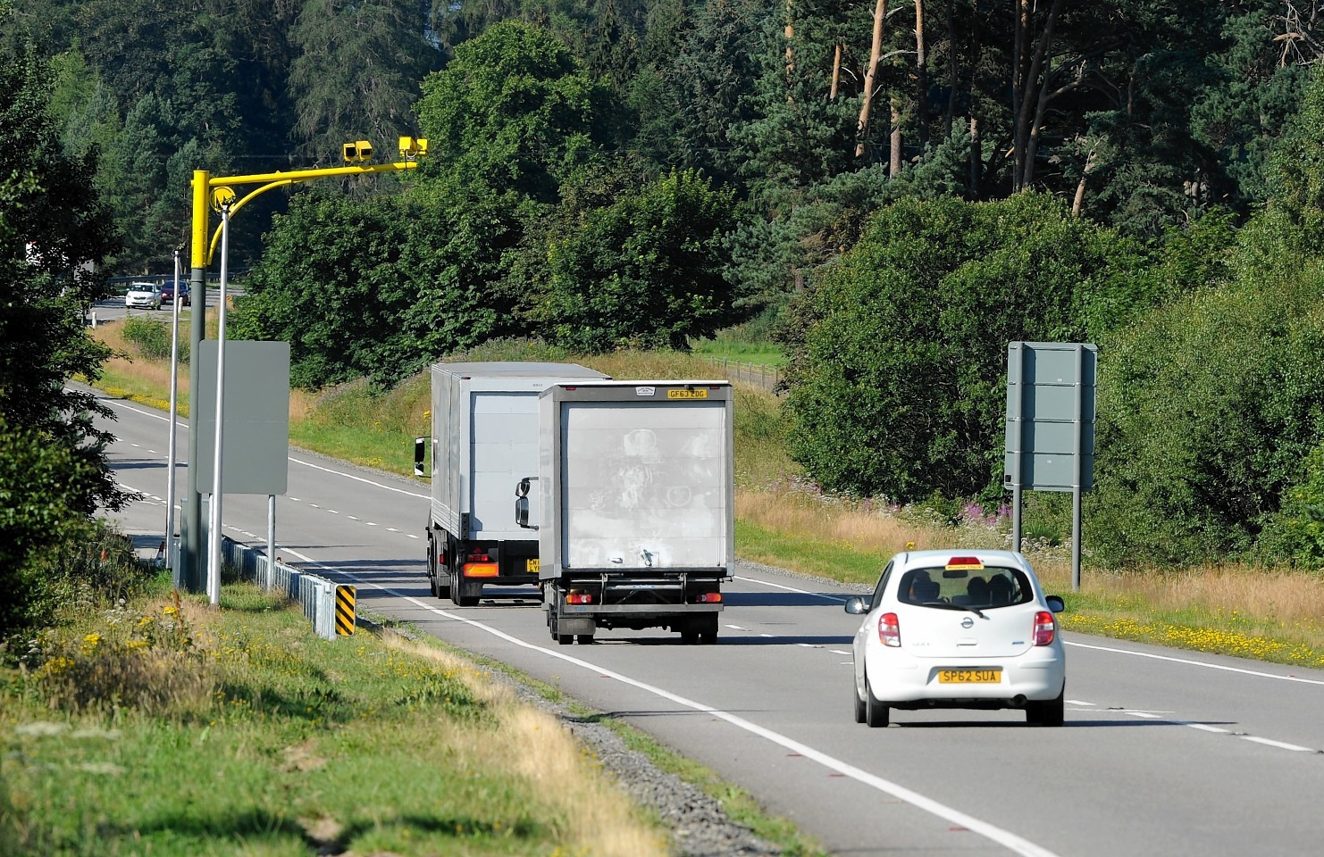 Average speed cameras on the A9