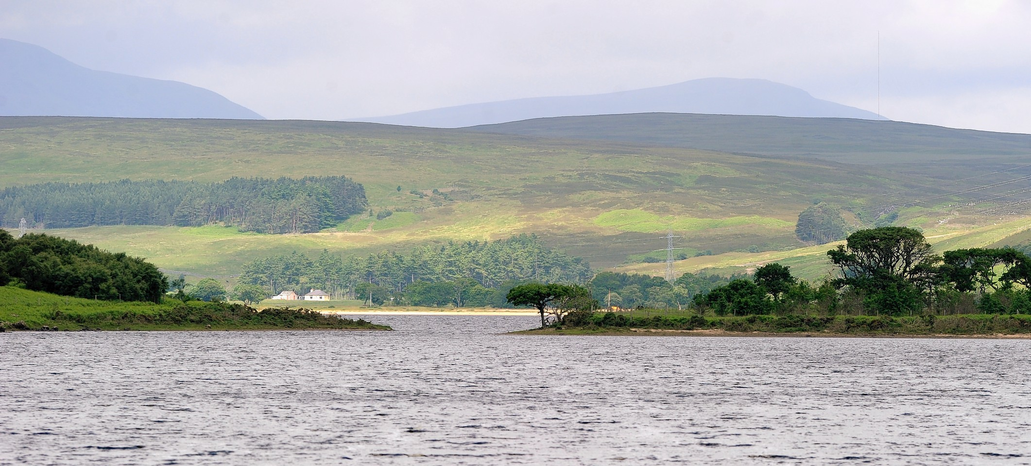 Windfarm was proposed for Balnacoil hill