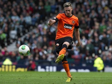 Douglas made 75 appearances for Dundee United before moving to Poland