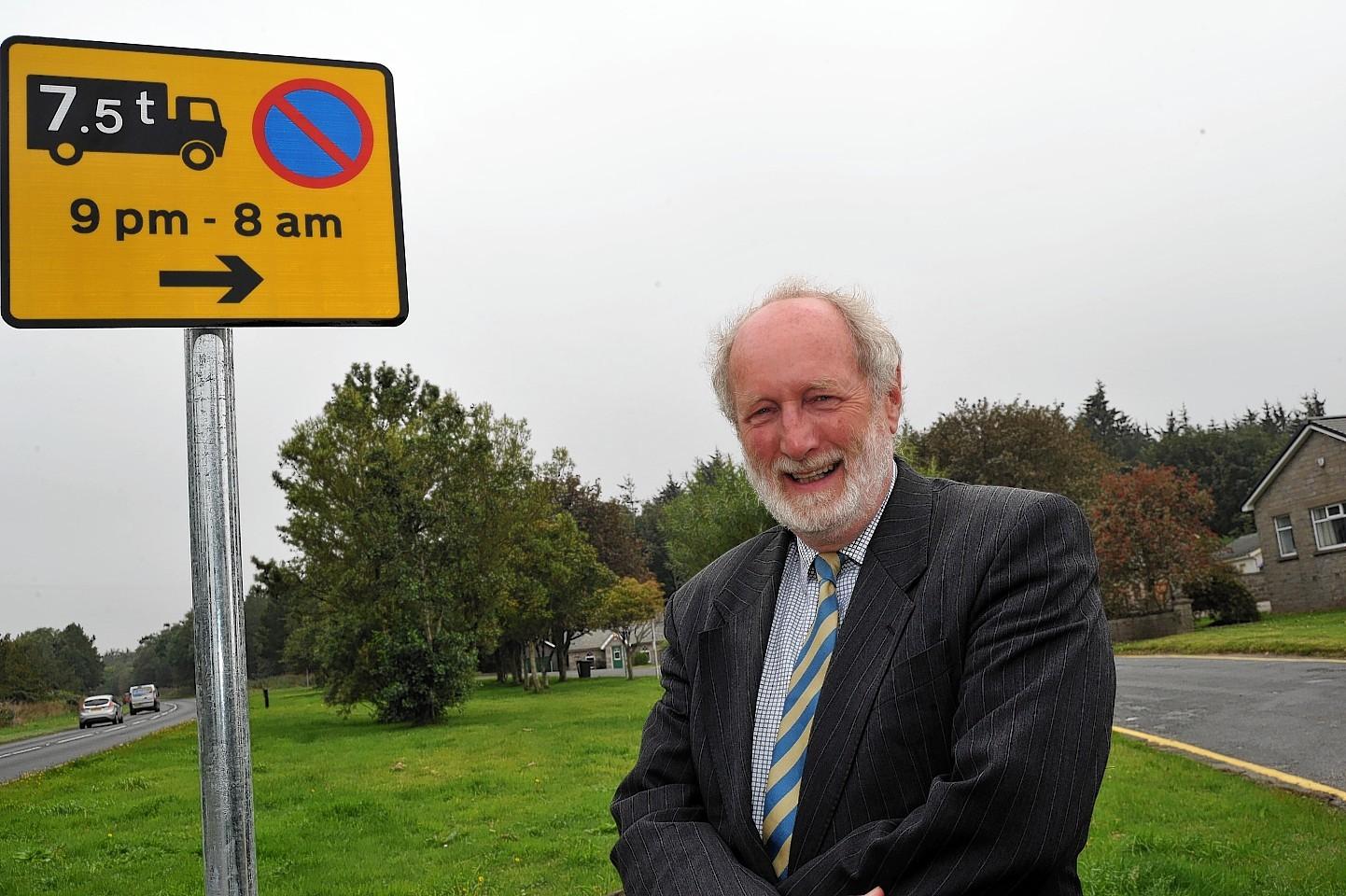 Councillor Charles Buchan