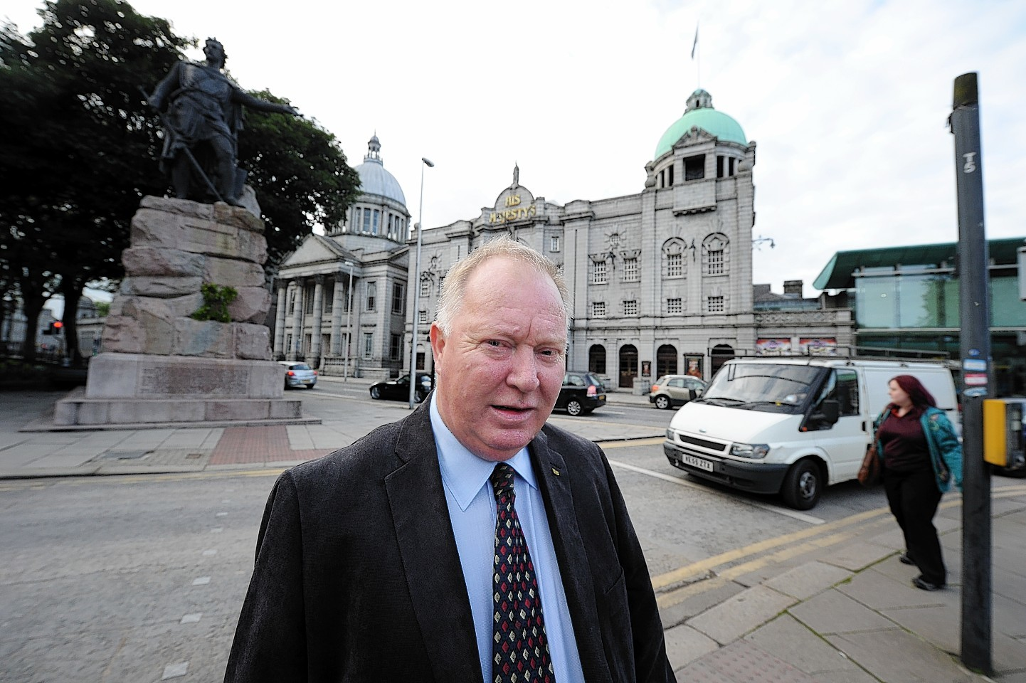 Councillor Bill Cormie of the SNP group
