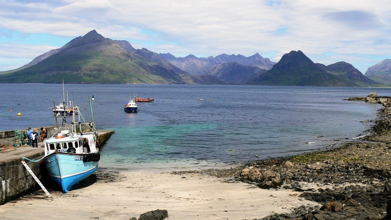 The beach at Elgol