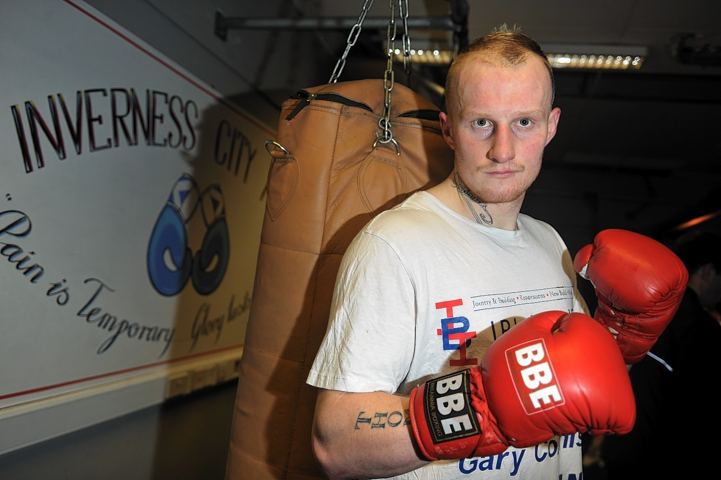 Highland heavyweight boxer Gary Cornish