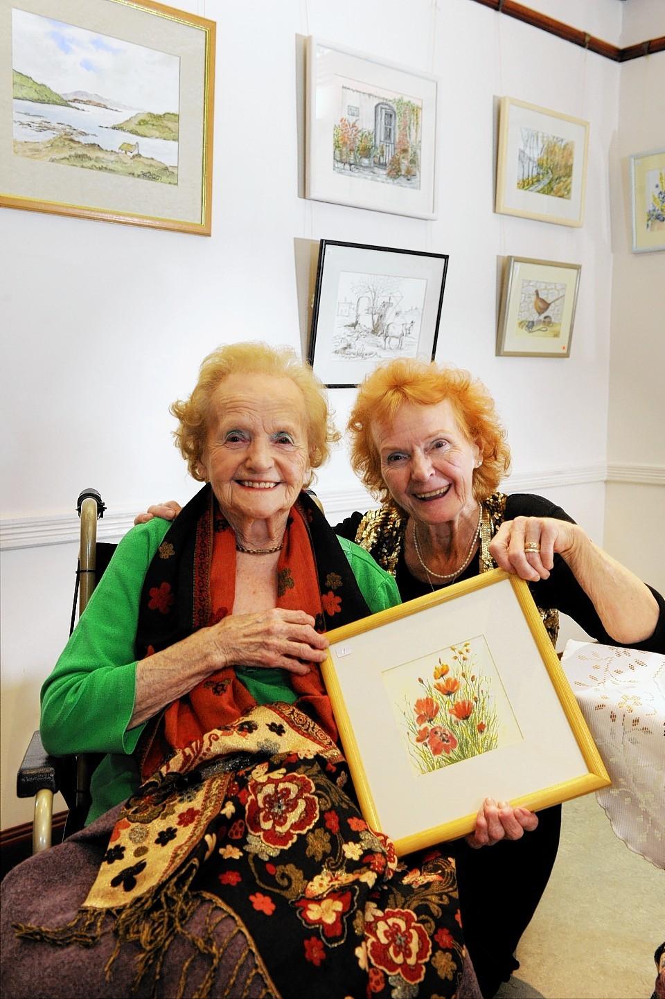 Hilda Grant and Elaine King