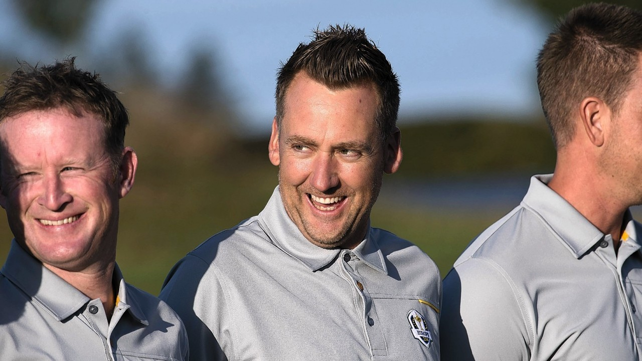 Ryder Cup hero Ian Poulter has helped keep spirits high within the camp