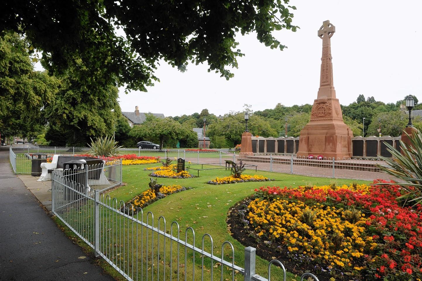 Cavell Gardens war memorial