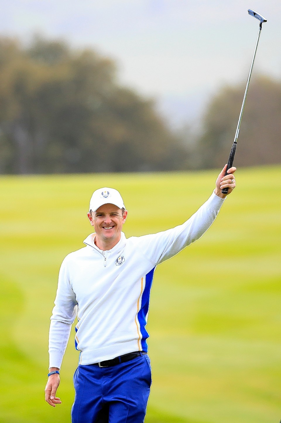 Justin Rose was Europe's star man today as Paul McGinley's team raced into a 10-6 lead