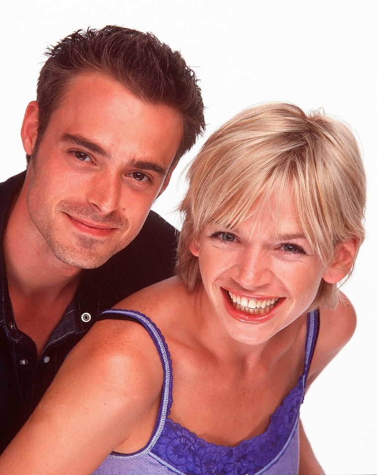 Jamie Theakston and Zoe Ball were two of the most popular hosts on television