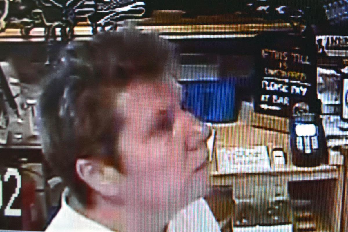 CCTV image of Sandra Davison