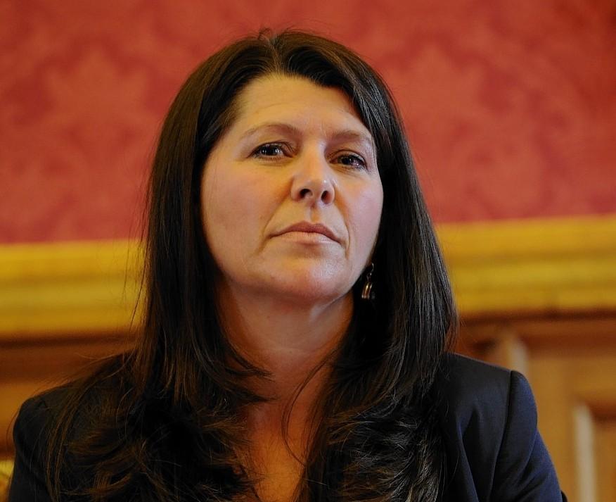 Marie Boulton, deputy leader of the Aberdeen City Council