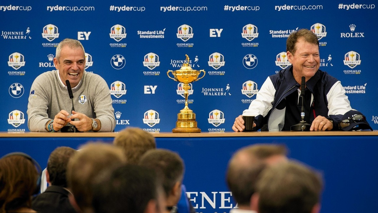 Watson faces home captain Paul McGinley in the battle of the Ryder Cup leaders