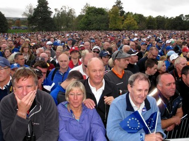 Salmond was speaking to a crowd of 20,000 at Gleneagles