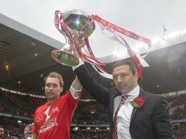 Derek McInnes is hoping his Aberdeen team can replicate last season's cup success