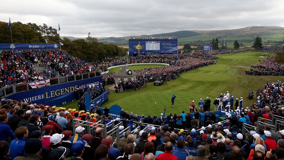 Day three of the 40th Ryder Cup at Gleneagles Golf Course, Perthshire.