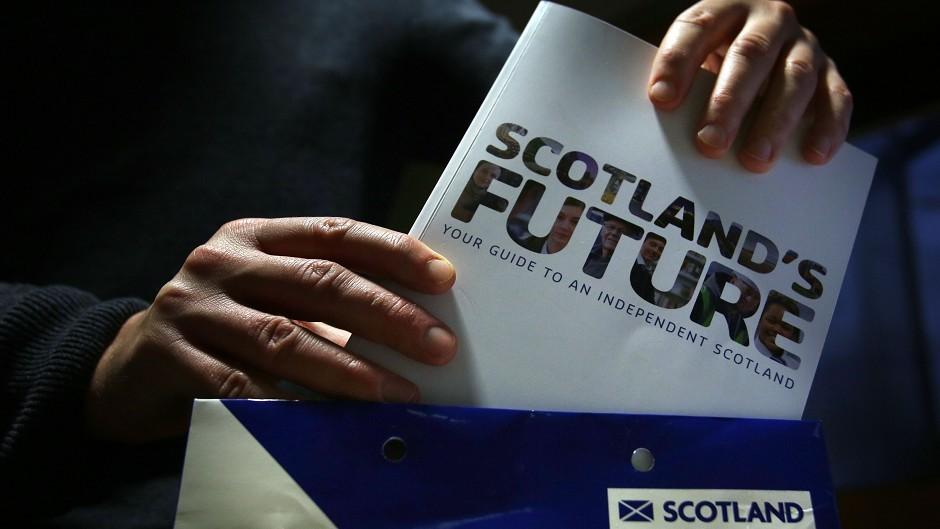 Scotland's future is decided